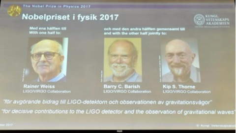 Rainer Weiss, Barry C. Barish, Kip S. Thorne - premio Nobel in Fisica 2017